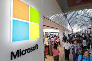 New Microsoft Logo and Store