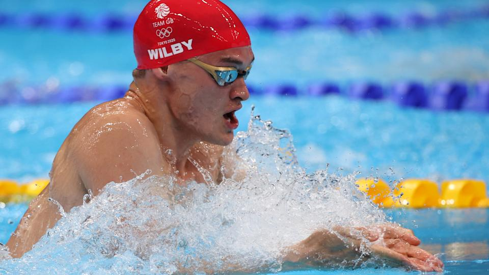 James Wilby, 27, finished sixth in the 200m breaststroke final in Tokyo