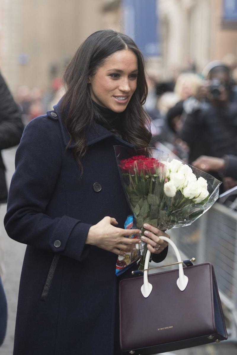 The tote sold out internationally within minutes after photos emerged of Meghan with it. Photo: Getty