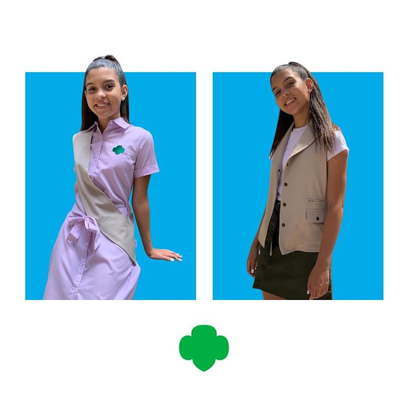 The Girl Scouts released new uniforms for grades 6-12 for the first time in 20 years. (Photo: Girl Scouts)