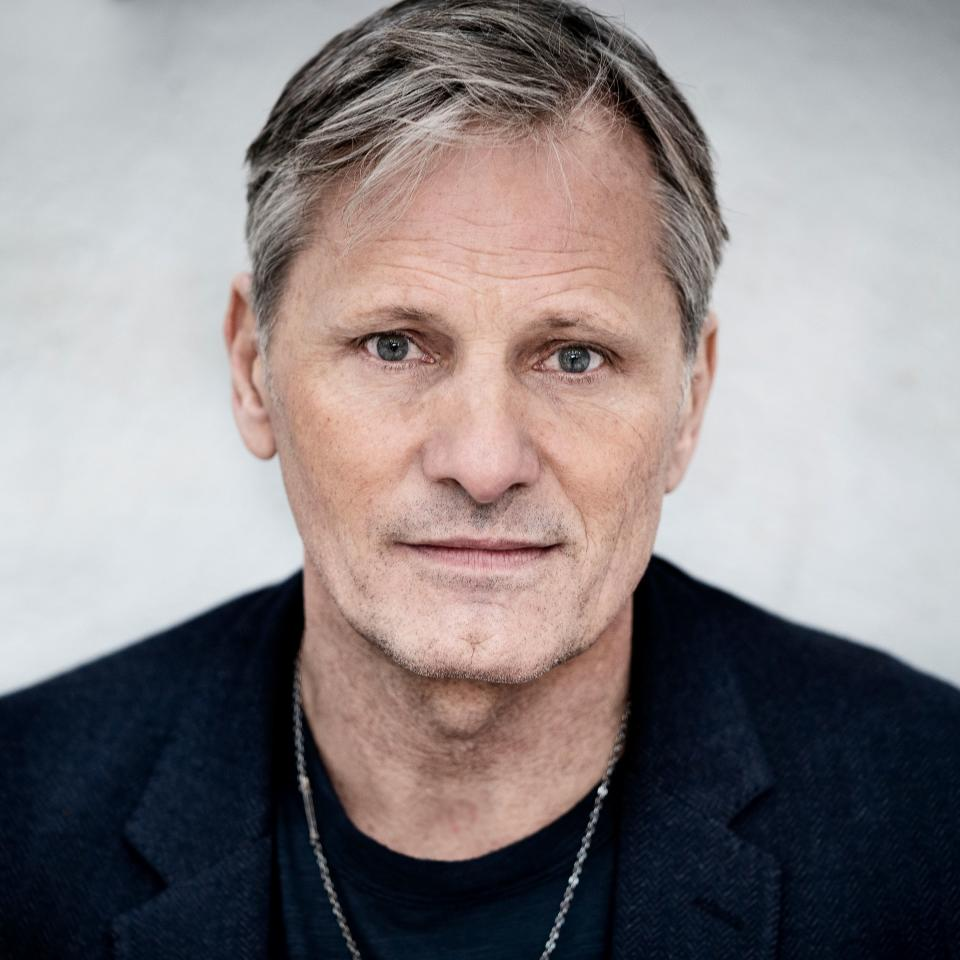 Danish-US actor Viggo Mortensen poses at a presscall in Copenhagen on October 26, 2020 prior to the opening of his new movie
