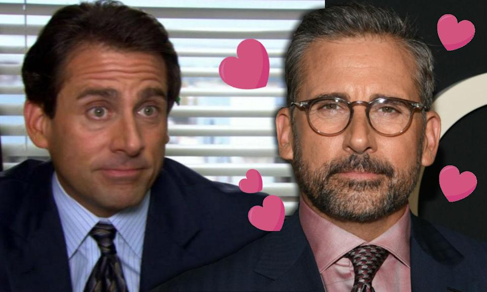 Steve Carell is hot now according to the Internet