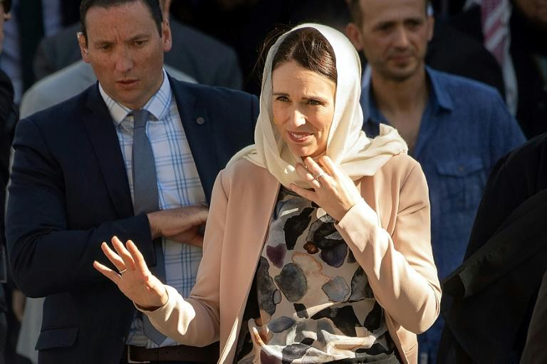Ardern donned a headscarf while comforting victims' families after the Christchurch shooting, later saying it was a spontaneous gesture of respect to the Muslim community