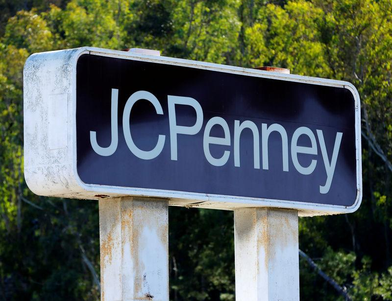 FILE PHOTO: A JC Penny department store sign is shown in Oceanside