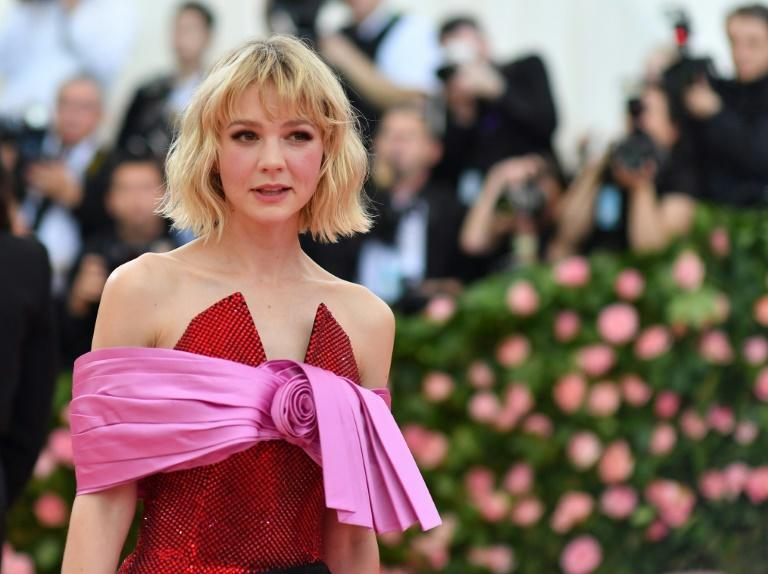 """British actress Carey Mulligan is a favorite for best actress honors at the Golden Globes for her searing work on """"Promising Young Woman"""""""