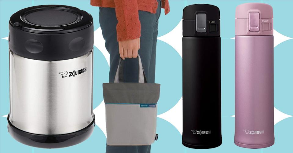 Zojirushi insulated mugs and jars are perfect for keeping your lunch and coffee fresh all day. (Photo: Amazon)