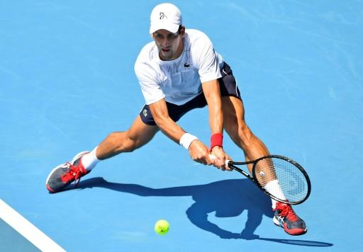 Defending champion Novak Djokovic is gunning for an eighth title