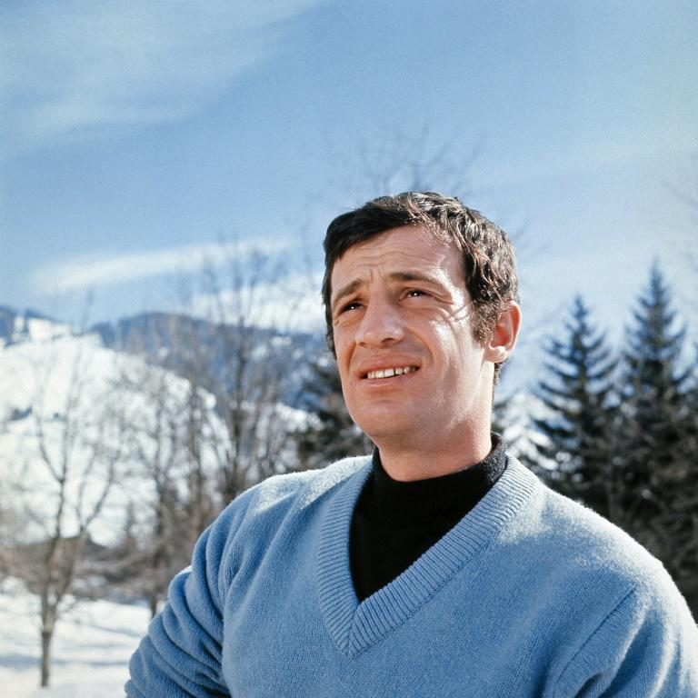 Known in France as 'Bebel', Belmondo was also often called 'Le Magnifique' (AFP/-)