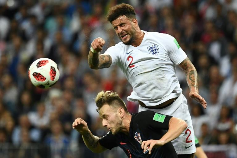 Kyle Walker was part of the England squad that reached the World Cup semi-finals