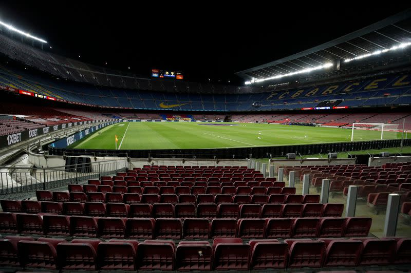 Barca stadium revamp urgently needed due to financial hit, says vice-president