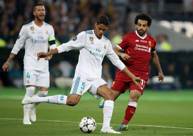 Varane helped Real win the Champions League four times (Nick Potts/PA).