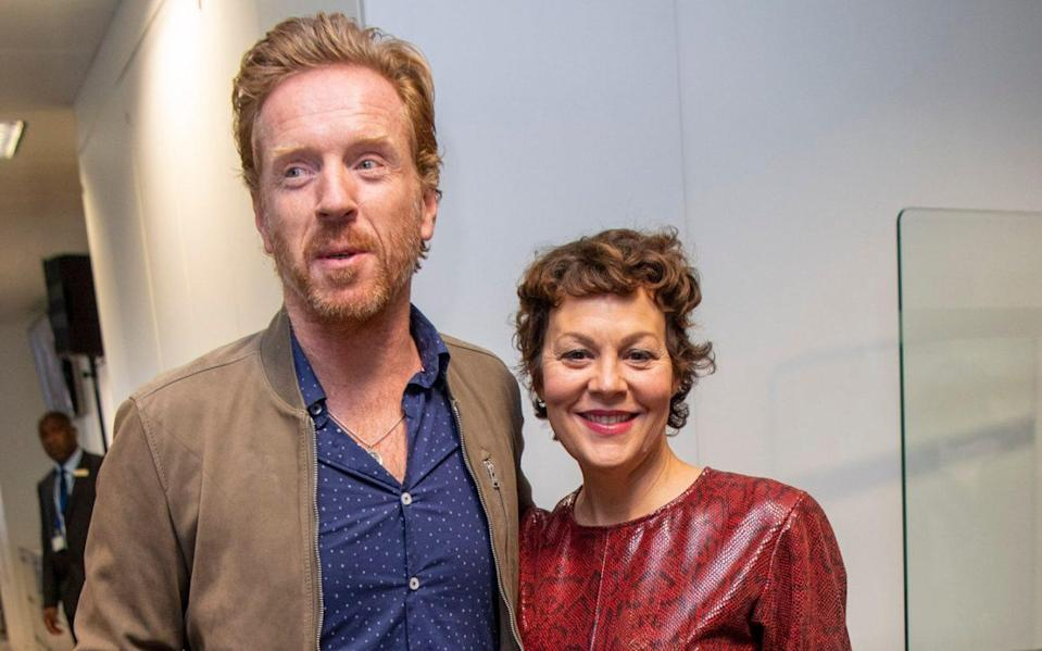 Damian Lewis and Helen McCrory 'found a sense of purpose' during the pandemic by carrying out charity work