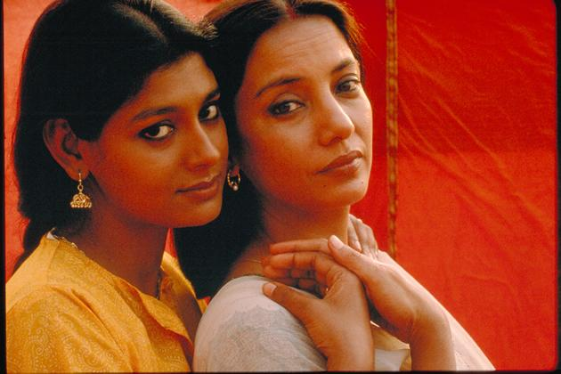 """Fire"" tells the controversial story of two married women who find solace, and later romance, in each other after feeling neglected by their husbands. (Photo courtesy of Perspectives Film Festival)"