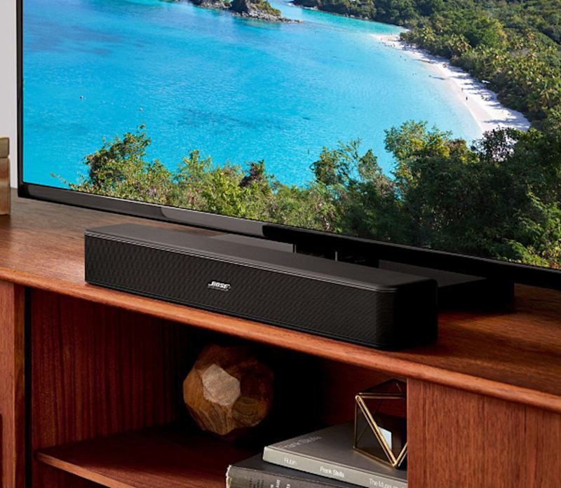 These slim devices blend seamlessly and deliver major sound. (Photo: Bose)