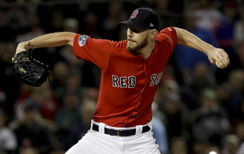 Red Sox ace Sale out of hospital will rejoin team at Game 3