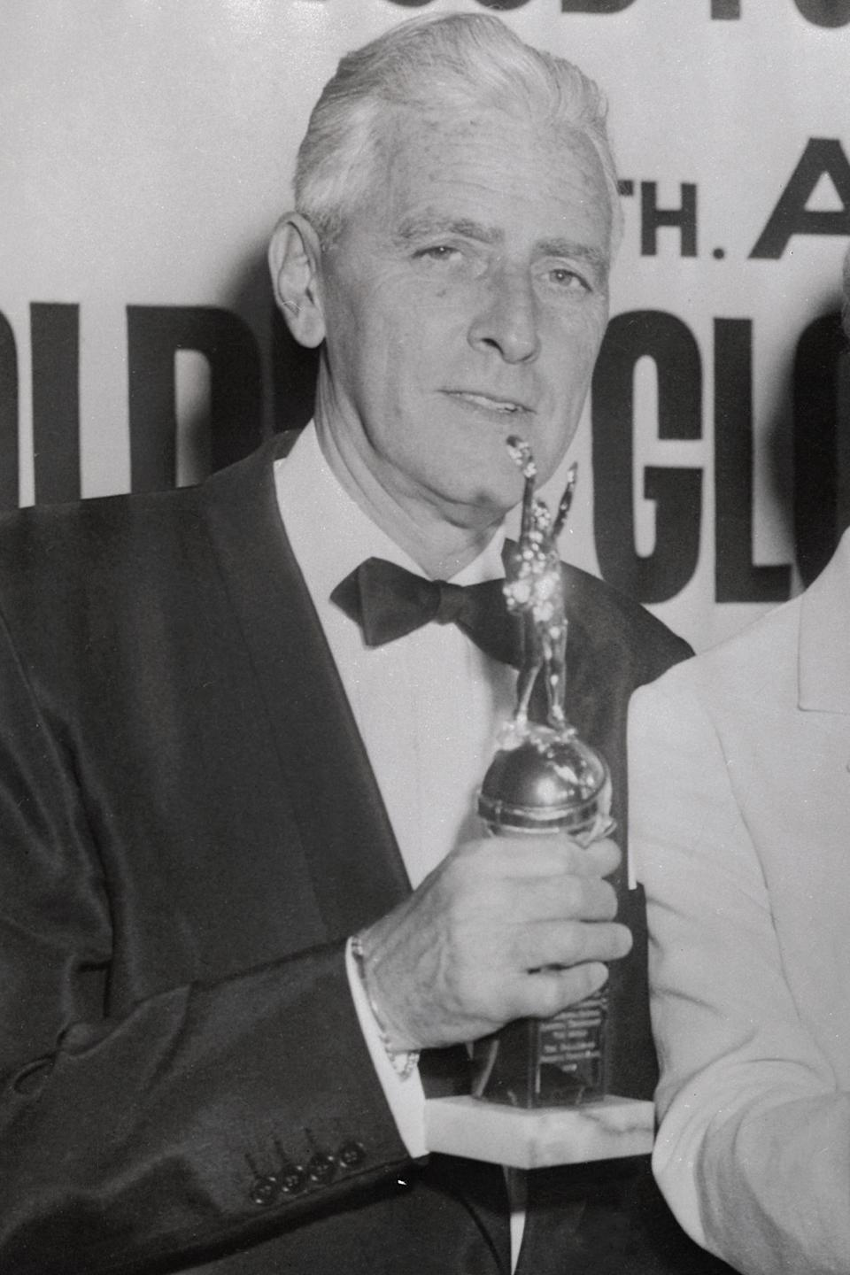 <p>Producer Buddy Adler won the Cecil B. DeMille Award in 1958.</p>