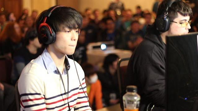 Japanese Lucario player Tsu made his U.S. debut and took #1 player ZeRo to his limit. (Alain Rodriguez)