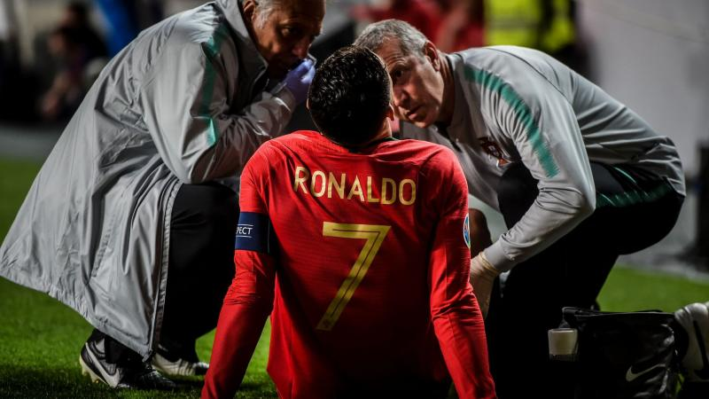 Ronaldo facing 'difficult' fight to be fit for Ajax clash - Allegri