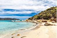 <p>Crystal clear waters, gorgeous warm sand and the opportunity to rent parasols and deck chairs - what more could you want?</p>