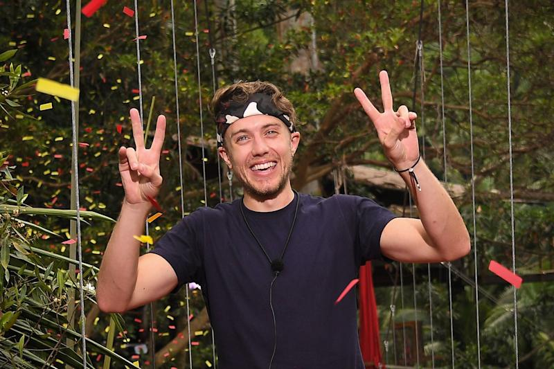Roman Kemp finished the series in third place (Photo: ITV/Shutterstock)