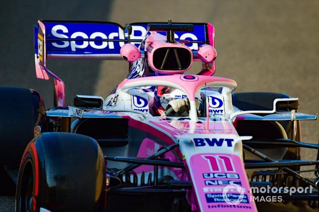 "Sergio Perez, Racing Point RP19 <span class=""copyright"">Jerry Andre / Motorsport Images</span>"