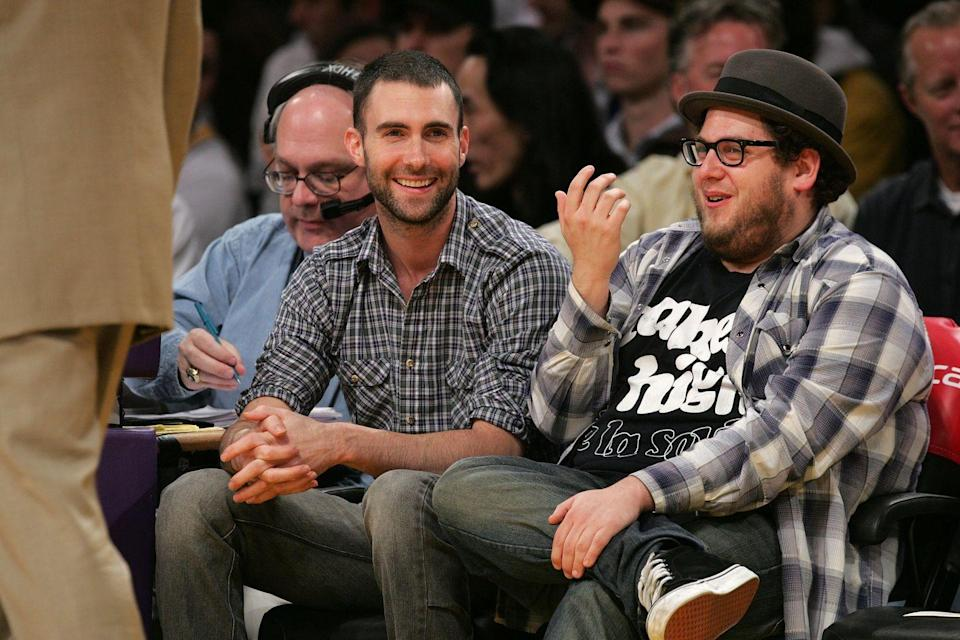 "<p>Best friends Adam Levine and Jonah Hill first came across each other as pre-teens after respective trips to the principal's office led them to meeting each other. ""Our dads met in the principal's office in junior high,"" Hill <a href=""https://www.eonline.com/news/547845/jonah-hill-talks-adam-levine-friendship-channing-tatum-s-junk-and-losing-the-oscar-to-jared-leto-listen"" rel=""nofollow noopener"" target=""_blank"" data-ylk=""slk:said"" class=""link rapid-noclick-resp"">said</a> of the origins of his relationship with Levine. ""We were in carpool, we lived at each other's houses.""</p><p>Over the years, the friends have remained close, celebrating each other's wins along the way. Hill credits that to the fact that they're still the same people that they were as kids. ""[Levine isn't] different now…that is a guy who is exactly who he ever was in a great way. And actually, I know a lot of famous people, and he's one that has not changed.""</p>"
