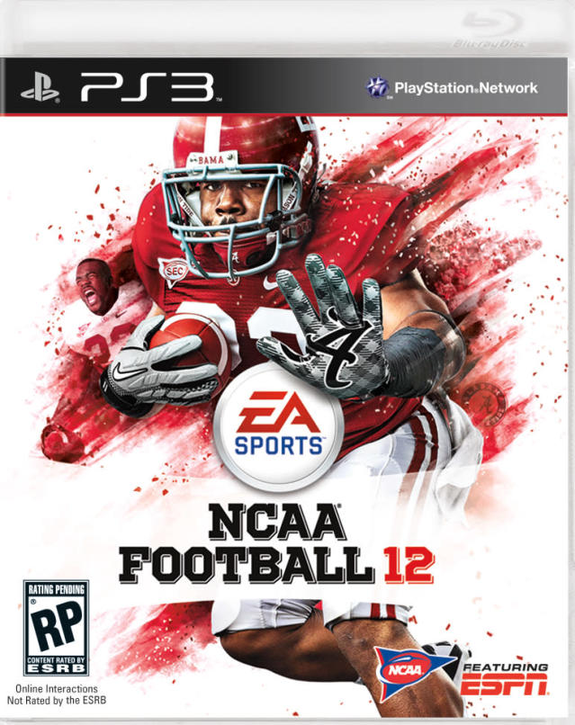"In an image provided by EA Sports, former Alabama tailback Mark Ingram appears on the cover of NCAA Football 12. Ingram says his knee is ""100 percent"" healthy. The 2009 Heisman winner said Tuesday, April 19, 2011, he doesn't know where the reports are coming from that NFL teams are concerned about his surgically repaired knee. Ingrams says that is ""false information"" and that NFL teams and Dr. James Andrews have ""given positive reports on my knee."" (AP Photo/EA Sports)"