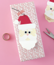 """<p>A cutting machine, like the Cricut, makes quick work of assembling this cheerful santa, but with a steady hand, you could achieve a very similar result. </p><p><em>Get the tutorial at <a href=""""https://www.whitehousecrafts.net/post/2019/10/26/large-santa-claus-gift-tags-with-free-cut-file"""" rel=""""nofollow noopener"""" target=""""_blank"""" data-ylk=""""slk:White House Crafts"""" class=""""link rapid-noclick-resp"""">White House Crafts</a>.</em> </p><p><a class=""""link rapid-noclick-resp"""" href=""""https://www.amazon.com/Cricut-Joy-Machine-Portable-Personalized/dp/B084LMTR98?tag=syn-yahoo-20&ascsubtag=%5Bartid%7C10072.g.34351112%5Bsrc%7Cyahoo-us"""" rel=""""nofollow noopener"""" target=""""_blank"""" data-ylk=""""slk:SHOP CRICUT"""">SHOP CRICUT</a></p>"""