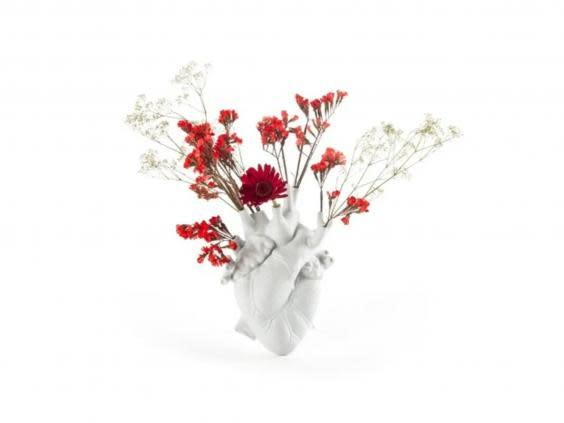 We love this literal take on a heart-shaped vase (Trouva)