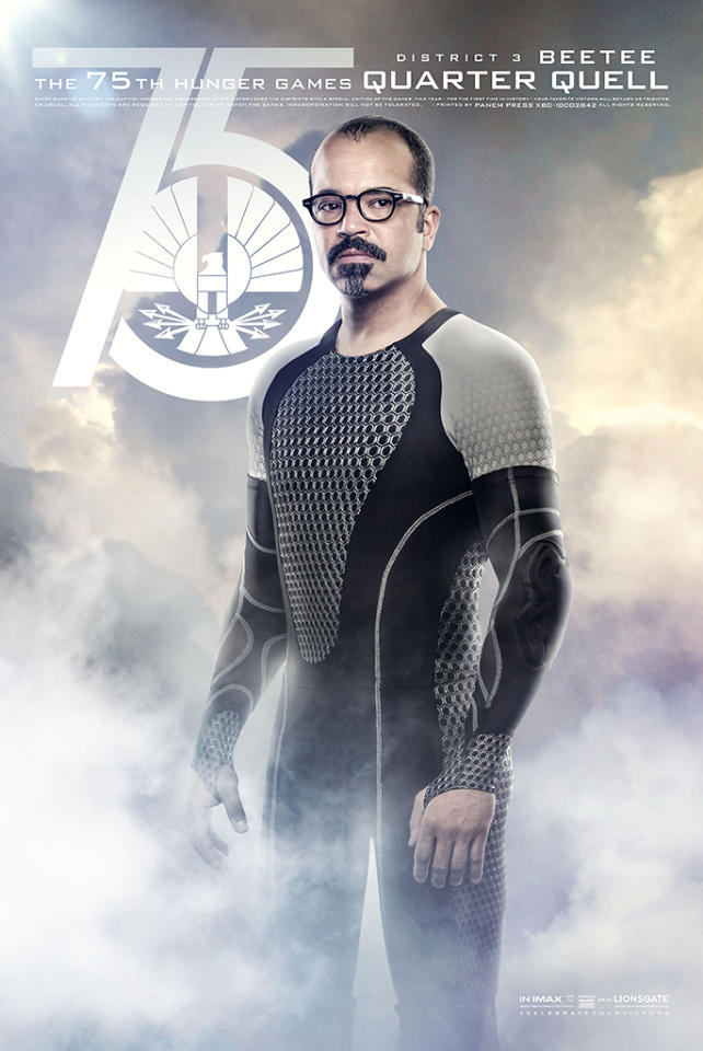 "Jeffrey Wright as Beetee in Lionsgate's ""The Hunger Games: Catching Fire"" - 2013"
