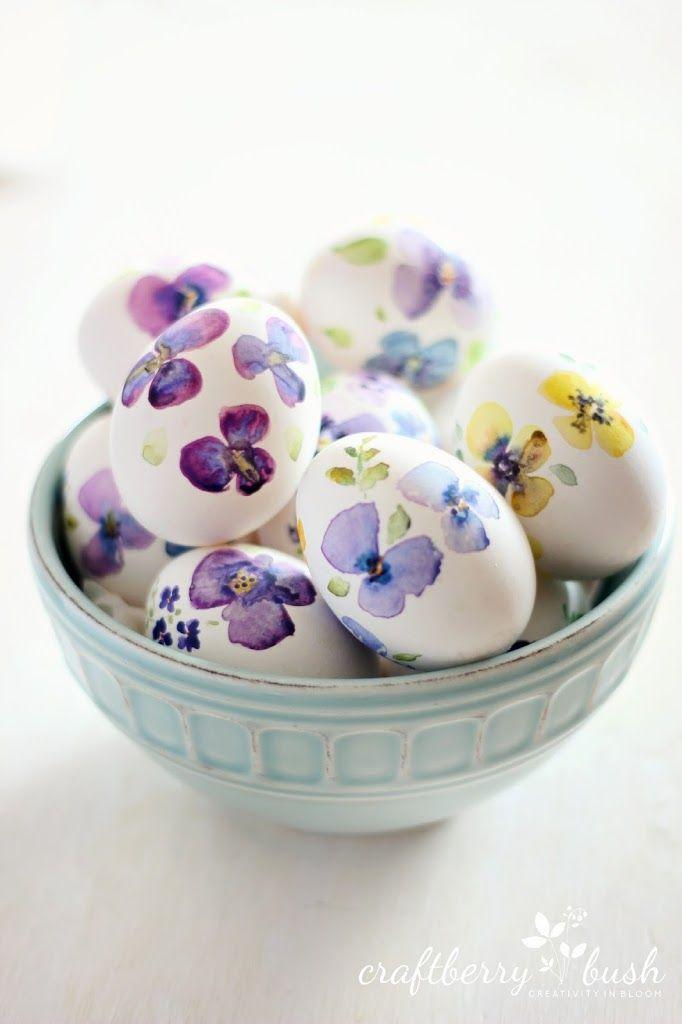 "<p>These beautiful eggs, decorated with watercolors, are the perfect way to add some understated Easter decor to your home. </p><p><strong>Get the tutorial at <a href=""http://www.craftberrybush.com/2014/04/watercolor-eggs.html"" rel=""nofollow noopener"" target=""_blank"" data-ylk=""slk:Craftberry Bush"" class=""link rapid-noclick-resp"">Craftberry Bush</a>.</strong> </p>"
