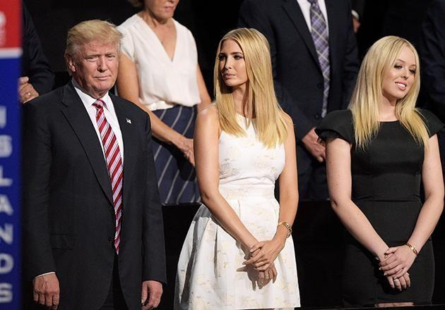 Donald Trump's daughter tried to wrangle her way into the wrong party. Photo: Getty Images
