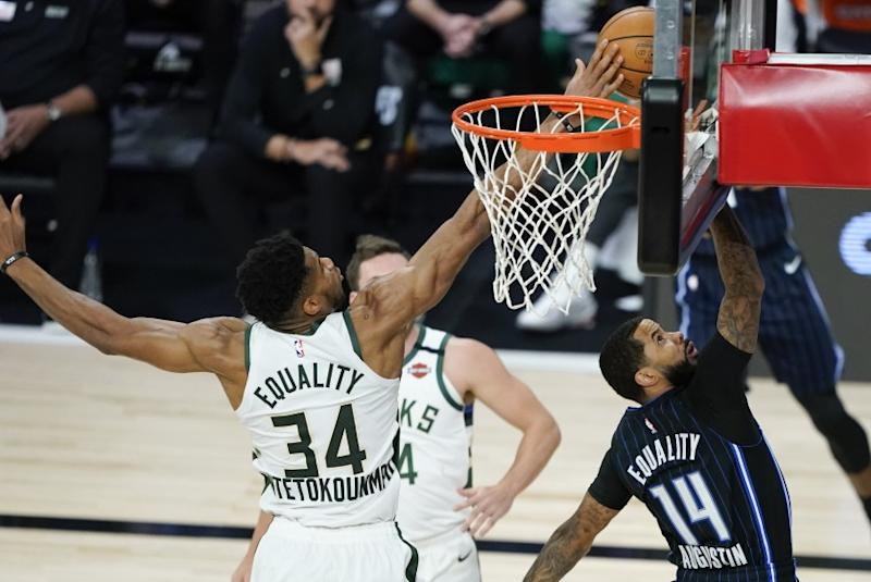 Giannis Antetokounmpo, NBA Defensive Player of the Year