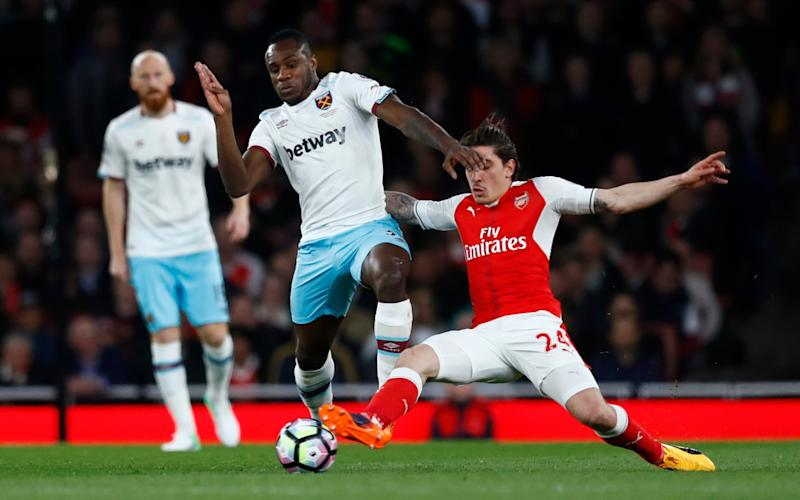 West Ham fell to a fifth straight defeat at Arsenal this week - Credit: Reuters