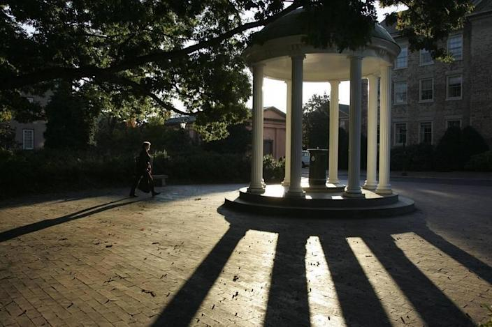 The Old Well on the UNC-Chapel Hill campus.