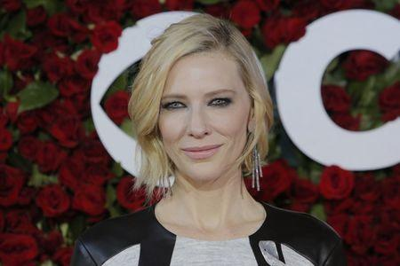 Actress Cate Blanchett arrives for the American Theatre Wing's 70th annual Tony Awards in New York