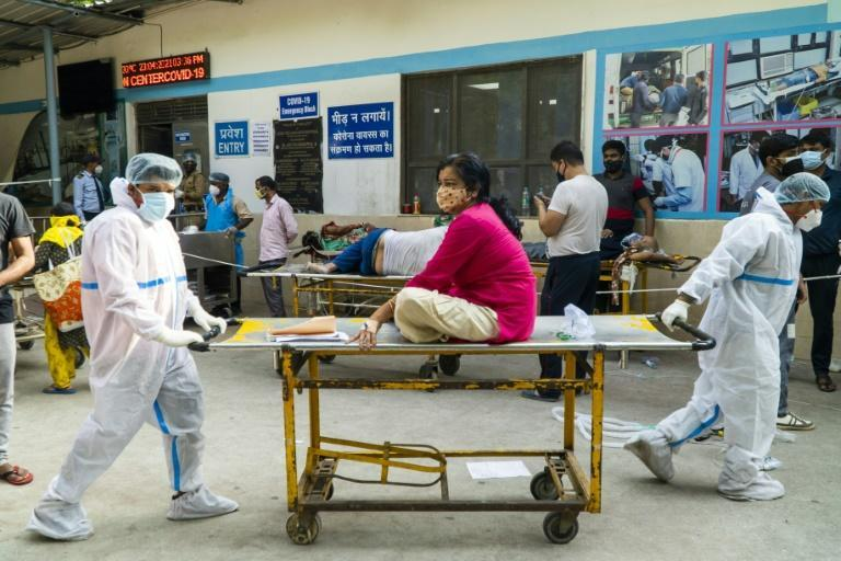New Delhi's hospitals have sent out calls for supplies to the central government