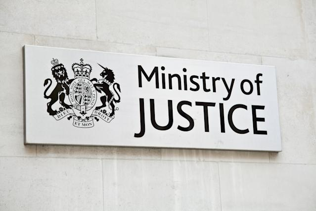 The Ministry of Justice said it would not hesitate to instigate disciplinary proceedings. (Getty)