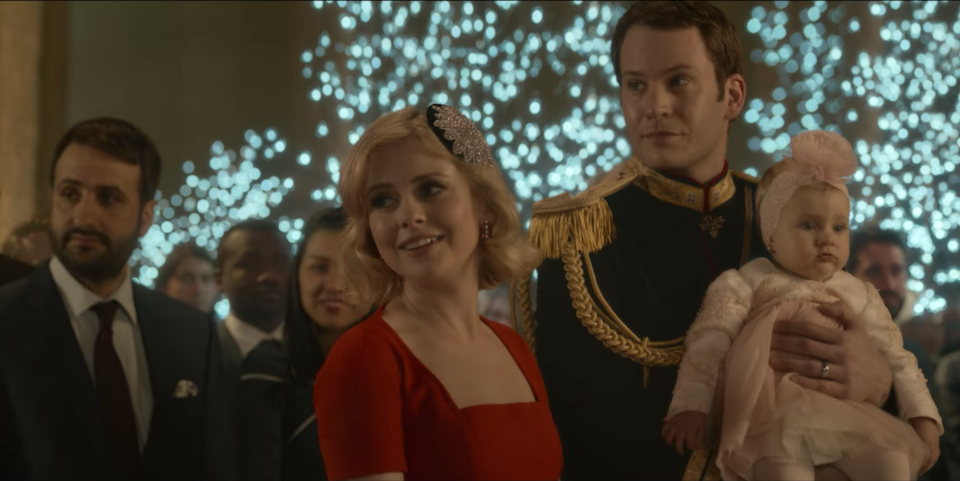 <p>But the characters from 'A Christmas Prince' also make an appearance in 'The Princess Switch: Switched Again'</p>Netflix