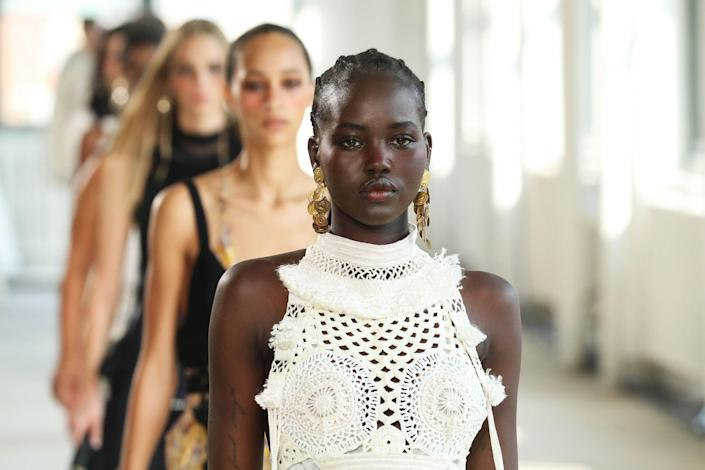 """<p>Accessories make the outfit, and New York Fashion Week is a master class in that lesson. For some, that meant precious pearl earrings and romantic hats, while others designed accessories where """"camp"""" barely begins to cover it. See what we're talking about in our gallery of the best jewelry, sunglasses, and more, straight from the spring 2022 runways. </p>"""