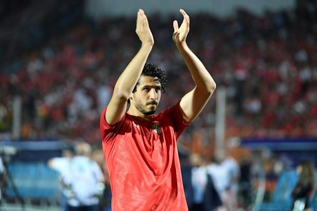 West Brom defender Ahmed Hegazi has made 59 appearances for Egypt since his debut in 2011 (AFP Photo/Khaled DESOUKI)