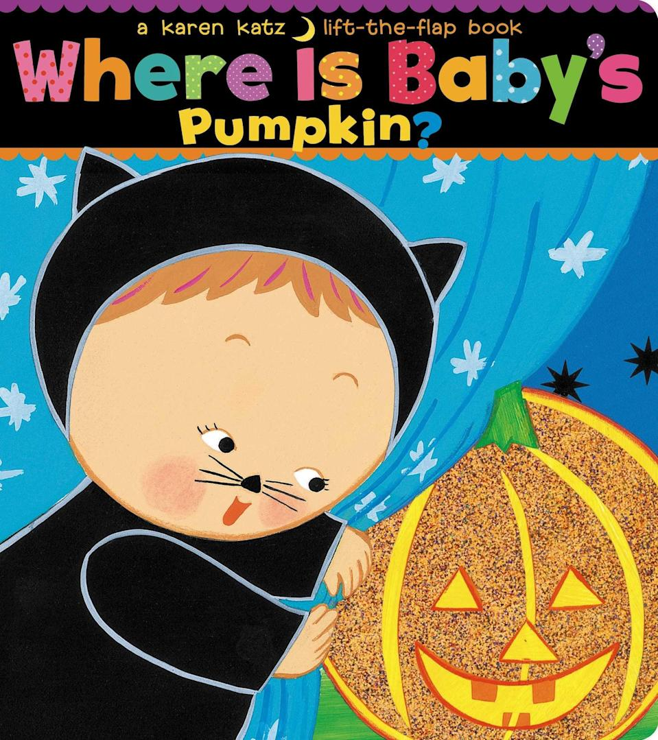 <p>Peekaboo! From the author of the bestselling <strong>Where Is Baby's Belly Button?</strong> comes<span><strong>Where Is Baby's Pumpkin?</strong></span> ($7, originally $8) - a book for toddlers about an adorable baby searching throughout the house for her pumpkin.</p>