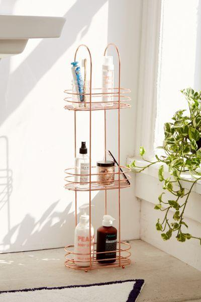 "<h3><a href=""https://www.urbanoutfitters.com/shop/minimal-rose-gold-standing-bathroom-storage"" rel=""nofollow noopener"" target=""_blank"" data-ylk=""slk:Urban Outfitters Minimal Rose Gold Standing Bathroom Storage"" class=""link rapid-noclick-resp""><strong>Urban Outfitters</strong> Minimal Rose Gold Standing Bathroom Storage</a></h3> <p>A standing storage caddy allows you to have easy access to everything you need. Plus, this rose gold finish will have you and your roomies clamoring to take it home after the semester's over.</p> <br> <br> <strong>Urban Outfitters</strong> Minimal Rose Gold Standing Bathroom Storage, $29, available at <a href=""https://www.urbanoutfitters.com/shop/minimal-rose-gold-standing-bathroom-storage"" rel=""nofollow noopener"" target=""_blank"" data-ylk=""slk:Urban Outfitters"" class=""link rapid-noclick-resp"">Urban Outfitters</a>"