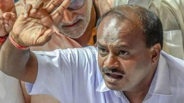 Chief Minister HD Kumaraswamy will face a floor test at the Vidhana Soudha today, potentially ending political uncertainty in the state.