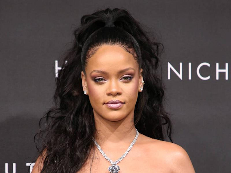 Rihanna 'completely fine' after flipping over electric scooter
