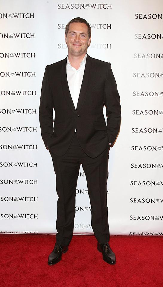 """<a href=""""http://movies.yahoo.com/movie/contributor/1808509850"""">Stephen Campbell Moore</a> at the New York City premiere of <a href=""""http://movies.yahoo.com/movie/1810055815/info"""">Season of the Witch</a> on January 4, 2010."""
