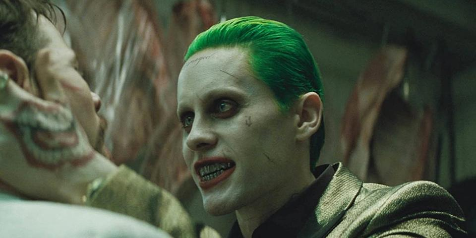 Jared Leto as Joker (Credit: Warner Bros)