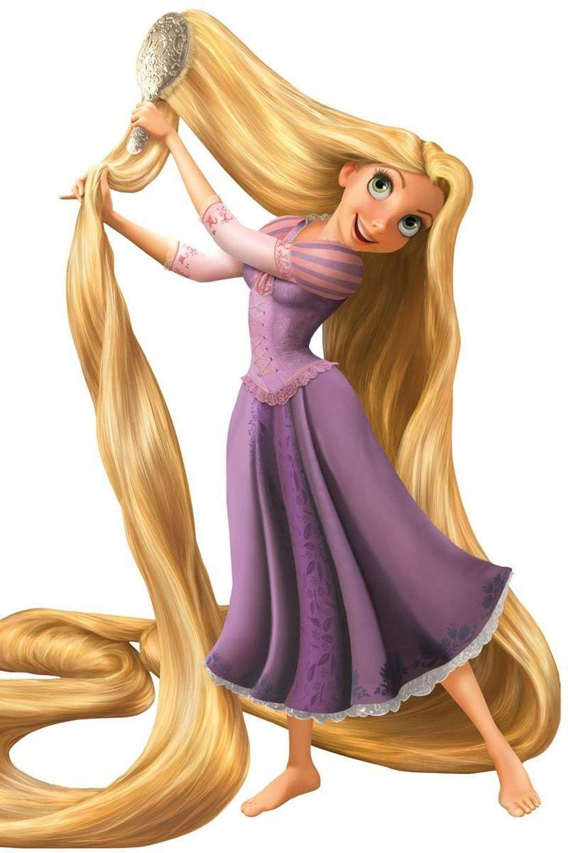 <p>Disney released the Pixar collaboration, <em>Tangled</em>, in 2010. While the Princess waits for her Prince, she wears her signature dark purple frock. </p>
