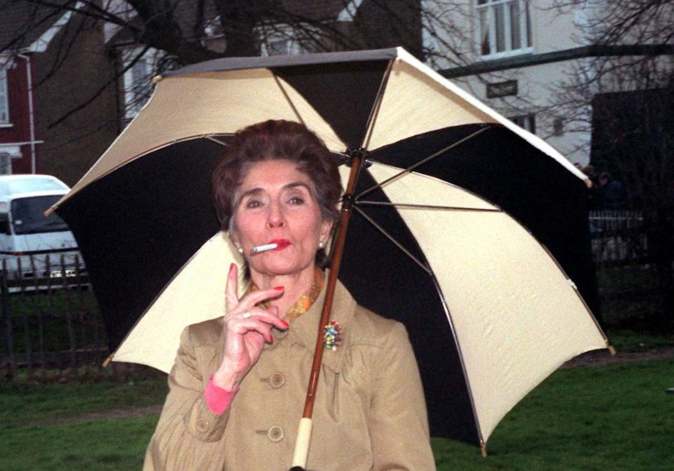 June Brown has played chain-smoking Dot Cotton for decades. (Derek Cox/PA)