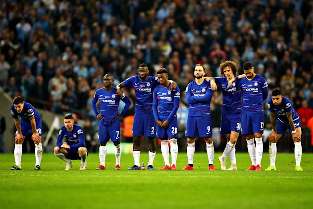 If history is any indication, Chelsea's current dejection won't last an extended period of time. (Getty)